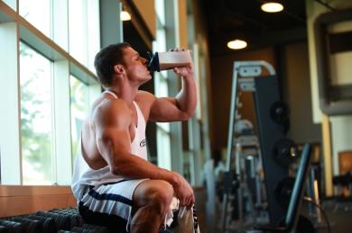 drinking protein