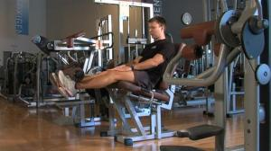 Machine leg extension
