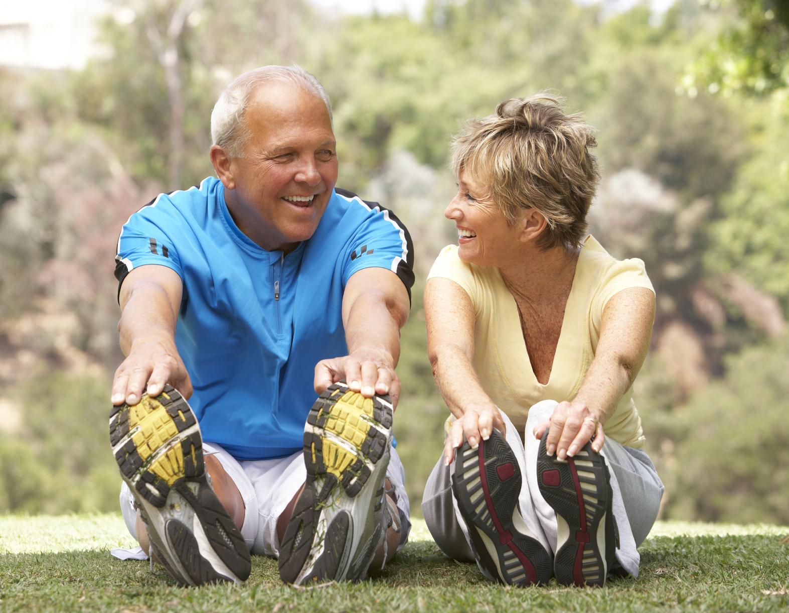 Image result for stretching older people