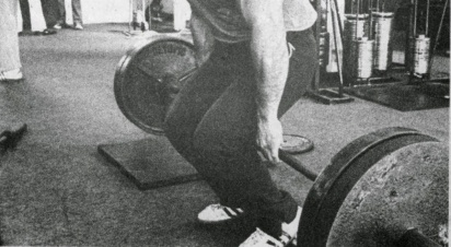 barbell hack squats