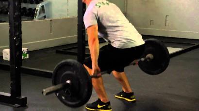 barbell hack squat