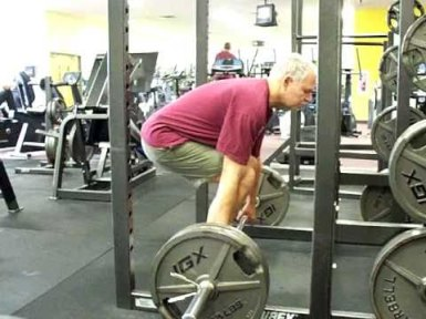 55 yr old man deadlifts 315 lbs