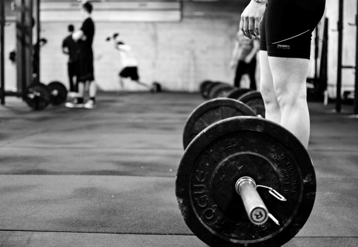 Making Adjustments Up and Down | The Old Man's Gym Barbell Wallpaper