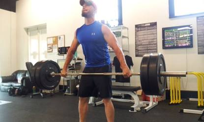 snatch deadlift