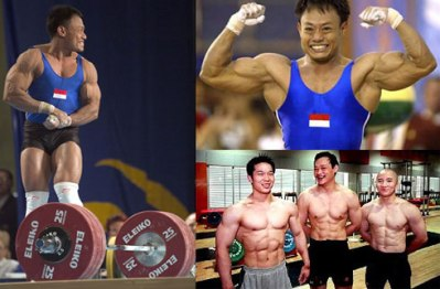chinese weightlifters