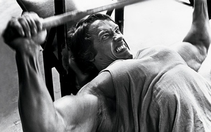 Arnold's bench press