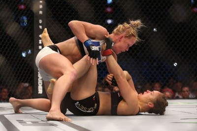 rousey holm fight