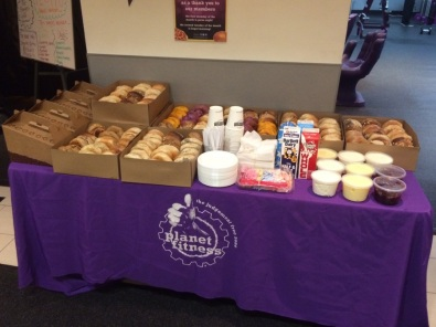 planet fitness donuts
