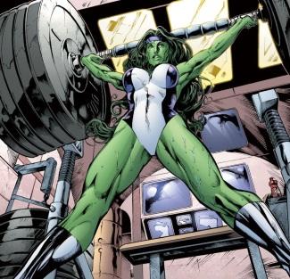 she hulk lifting