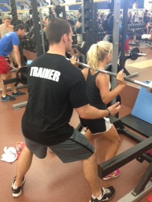 trainer for squats