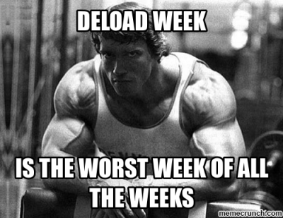 deload with arnold