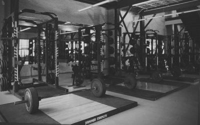 dark weight room