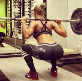 why women squat
