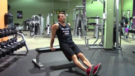 bench dips legs ext