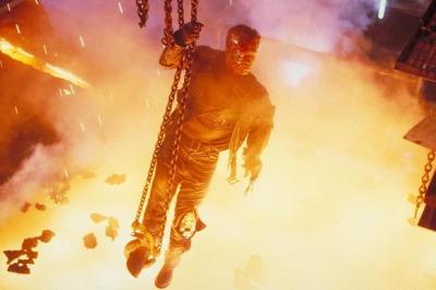 burning terminator